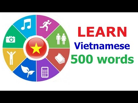 Learn Vietnamese (Vocabulary)