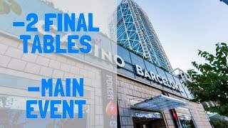 Latest News from 2019 PokerStars EPT Barcelona: August 26