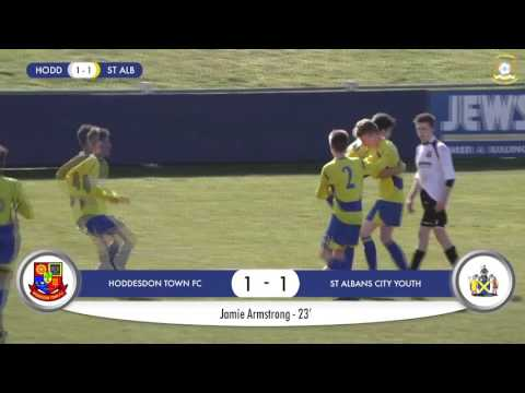 Hertfordshire FA U14 County Cup Final - Highlights