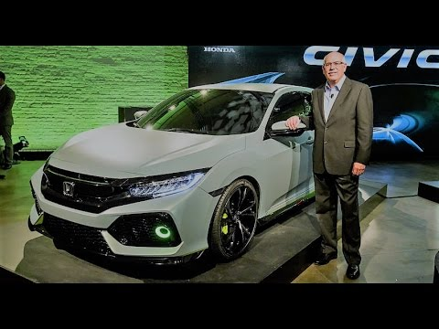 HONDA CIVIC HATCHBACK 7 COLORS AVAILABLE & FIRST DRIVE REVIEW ...