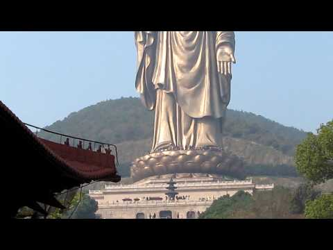 Buddha statue in Lingshan park near Wuxi China - Part 1