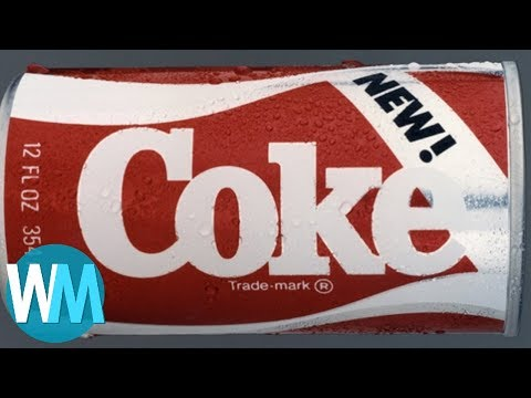Top 10 Failed Coke Products