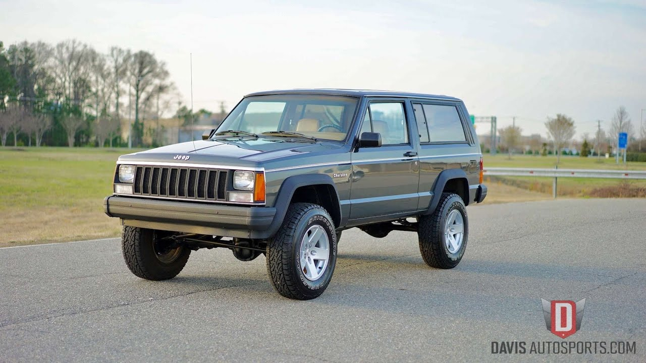 Davis AutoSports 1986 CHEROKEE 2 DOOR / RARE FIND / FOR SALE ...