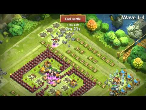 Jtisallbusiness Gameplay Castle Clash HBM J With Moltanica