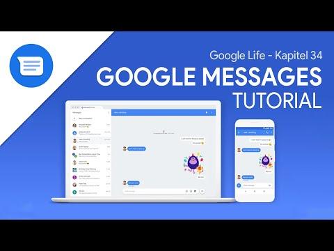 Google Messages (Das Große Tutorial) Deine SMS/Nachrichten In Der App Und Im Web // Google Life #34