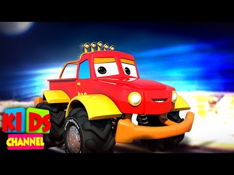 Kids Car Cartoon Shows | Street Vehicles | Cars & Monster Trucks Stories | Vehicle Videos For Babies