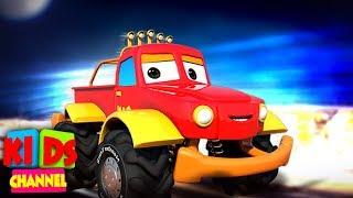 Kids Car Cartoon Shows   Street Vehicles   Cars & Monster Trucks Stories   Vehicle Videos for Babies