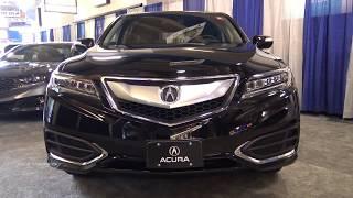 2018 Acura RDX AWD - TECH - Exterior And Interior Walkaround - Albany Auto Show 2017