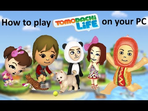 how-to-play-tomodachi-life-on-pc-tutorial!-(not-collection!!)