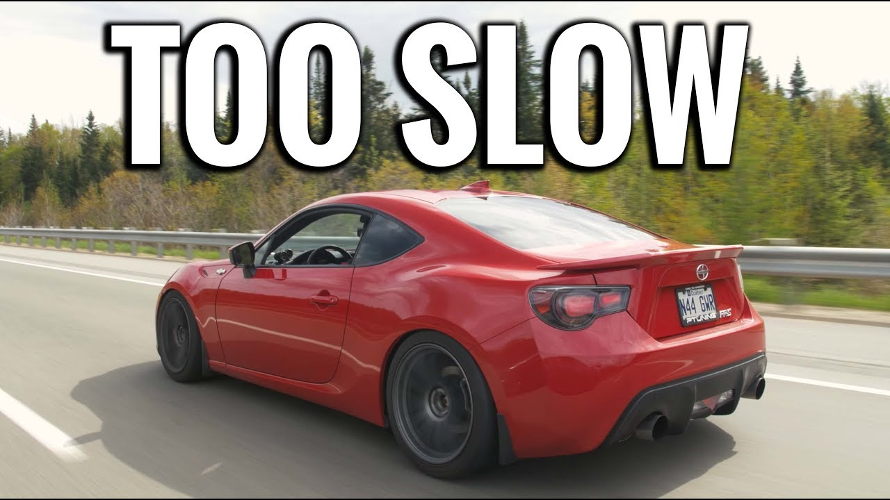 Why The Scion Frs Should Have Been Turbo 450hp Frs Youtube