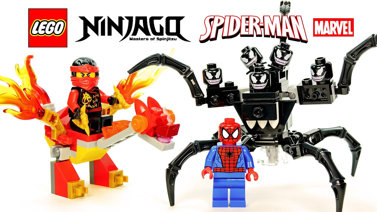 All Symbiote Character in LEGO Marvel Super Heroes 2