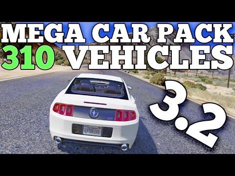 GTA 5 REAL CARS MOD: Mega Realistic Car Pack 3.2 Car Showcase (310 CARS) [DOWNLOAD]