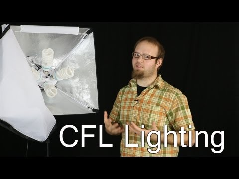 4 Socket CFL lighting softbox - DSLR FILM NOOB