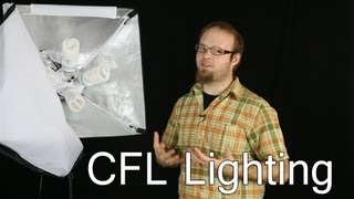 4 Socket CFL lighting softbox - DSLR FILM NOOB