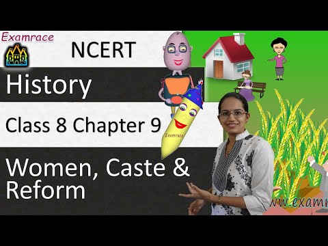 NCERT Class 8 History Chapter 9: Women, Caste and Reform