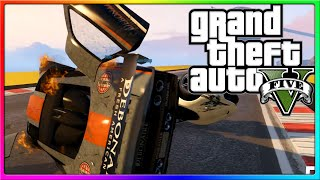 GTA 5 Online - SideArms4Reason Blows D20! (GTA V Races)