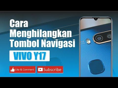 Cara menyembunyikan tombol navigasi VIVO Y17
