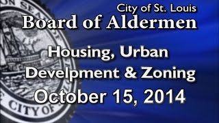 Housing Urban Development Zoning 10 15 2014