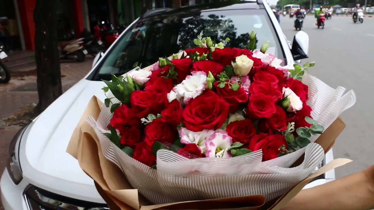 Beautiful Love Flowers For Girlfriend Floristsaigon Youtube
