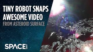 Tiny Robot Delivers Awesome Video From Asteroid Surface