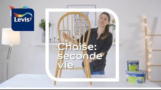 Comment donner une seconde vie à une vieille chaise avec Levis Meubles