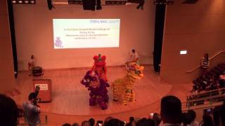 Li Po Chun United World College - Lion Dance Perfo