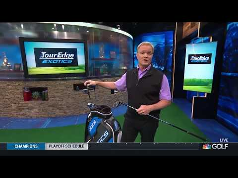 Tour Edge Exotics EXS Featured On The Golf Channel