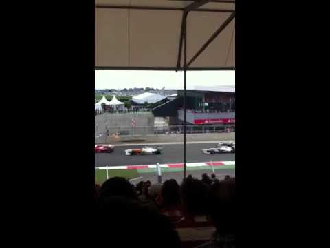F1 British grand prix 2011