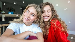 get ready with us for a crazy day in LA + VLOG