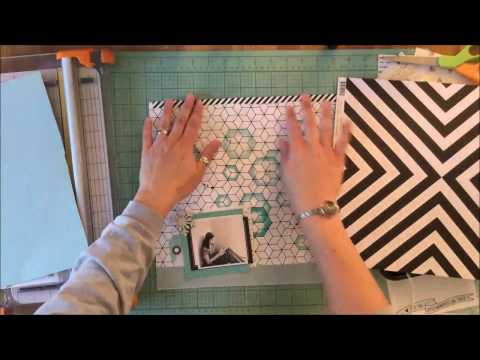 Process Video 7  Crafting with Black & White