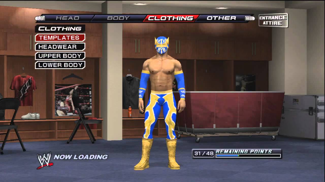 How to make Sin Cara ( Mistico ) On WWE Smackdown VS Raw 2011 ...