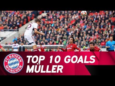 10 Goals | Thomas Müller vs. Hannover 96