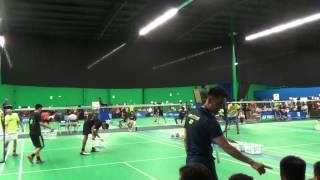 bd u19 choonggao lee oscar la vs brian duong gokul k 2015 us junior badminton national