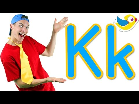 The Letter K Song - Learn the Alphabet