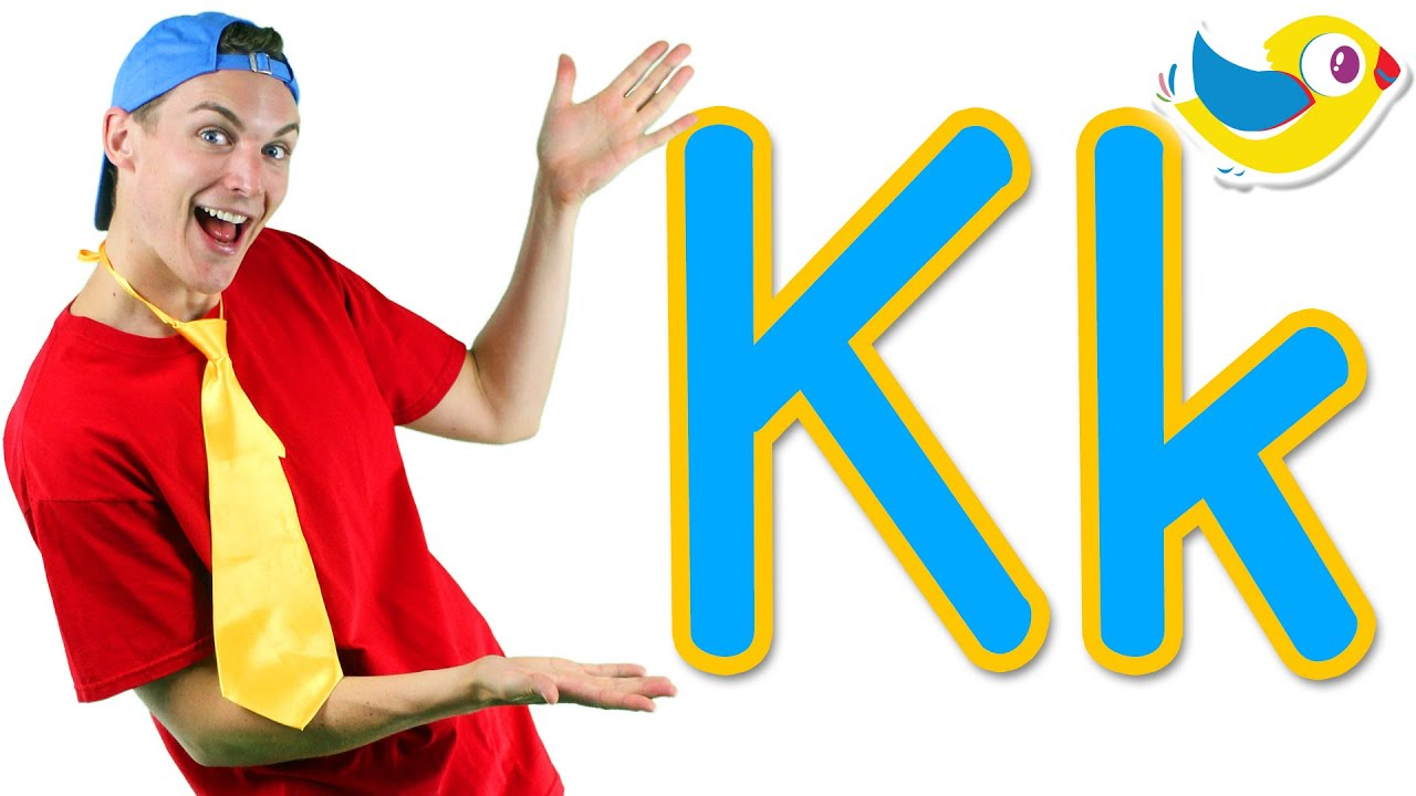 the letter k song learn the alphabet