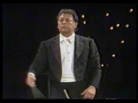 ISRAEL MUSIC HISTORY Zubin Mehta & Israel Philharmonic Beethoven 5th Symphony January 1991 Gulf War