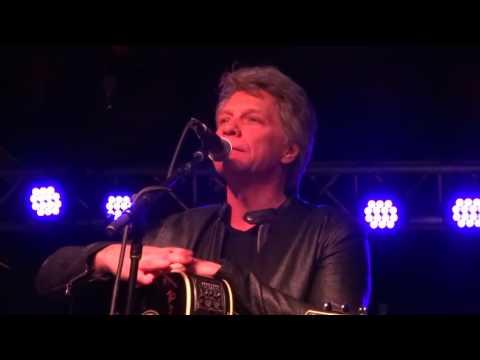 Jon Bon Jovi Blind Love Nashville 3/20/16