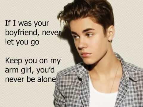 Justin Biebe-boyfriend lyrics