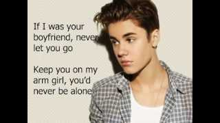 Justin Biebe-boyfriend lyrics