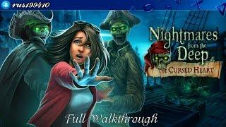 Nightmares from the Deep: The Cursed Heart - Full Walkthrough + Bonus Chapter [PS4] rus199410