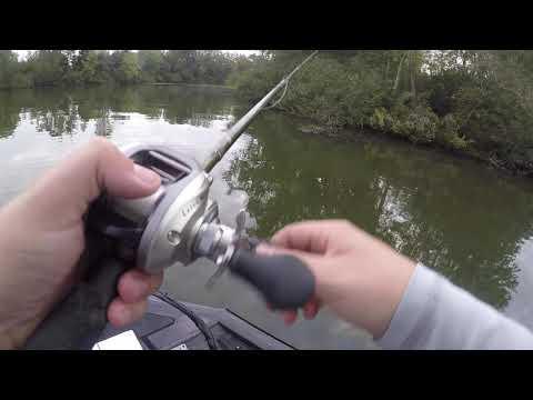 Bass Fishing Old Hickory Lake 10/11/19