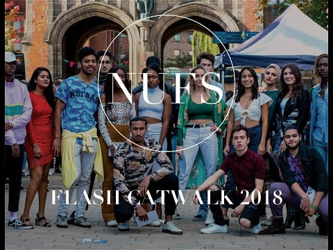 Newcastle University Fashion Society Flash Catwalk 2018