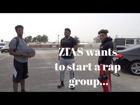 Zias wants to start a YOUTUBE RAP GROUP... ft. DDG, ZIAS, FTC, McQueen, Niqs, Treonthebeat