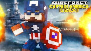 Minecraft Adventure - CAPTAIN AMERICA IS BACK!!