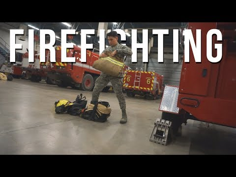 Air Force Firefighter Life
