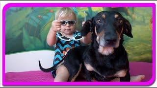 Ochelari pentru TOBY  Vlog cu TOBY la Anabella Show