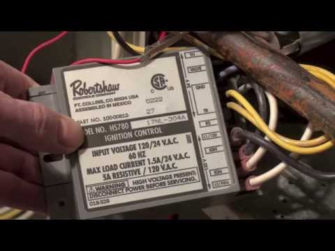 how the rheem rgda ignition control works youtube Ford TFI Module Wiring Diagram