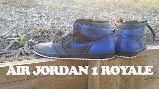 Custom Air Jordan 1 Royale