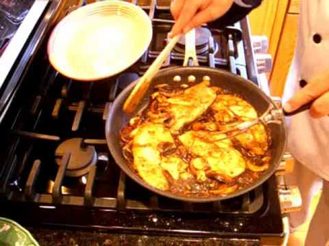 Chicken Marsala  The original, classic, simple recipe from Marsala, Sicily