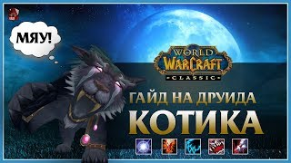 Гайд на Друида КОТА 🐯 (Feral Druid Cat DPS) | World of Wacraft: Classic